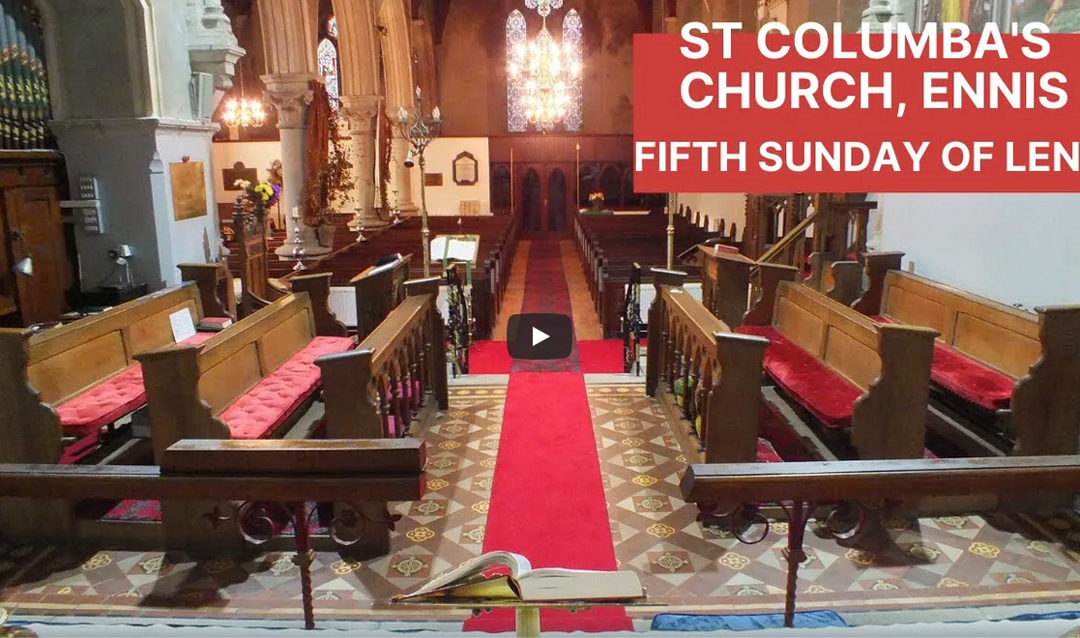 Fifth Sunday of Lent – Sunday Service