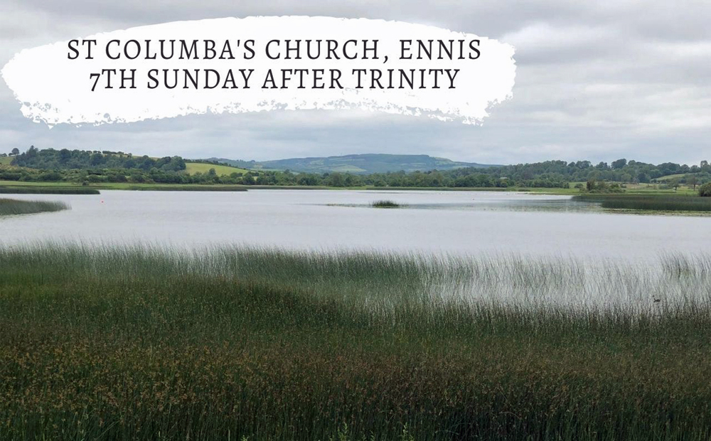 7th Sunday after Trinity – We are accepted