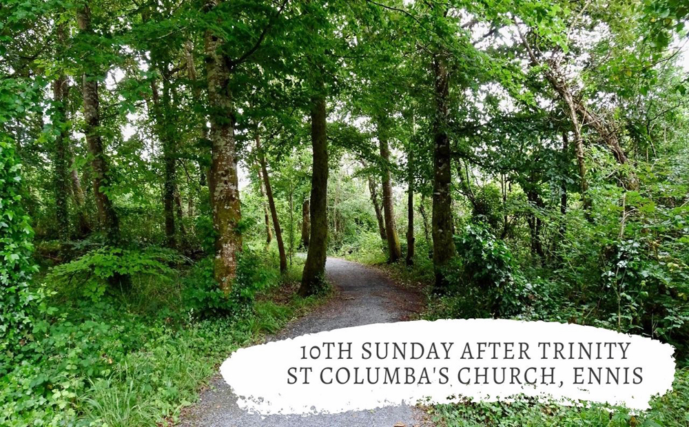 10th Sunday after Trinity – Was Jesus made to think again?