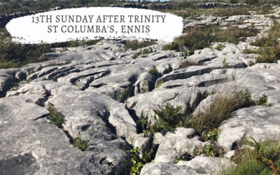 13th Sunday after Trinity – We pray because we must