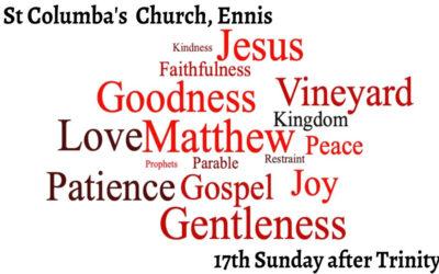 A dangerous Gospel – a joyful Gospel – 17th Sunday after Trinity
