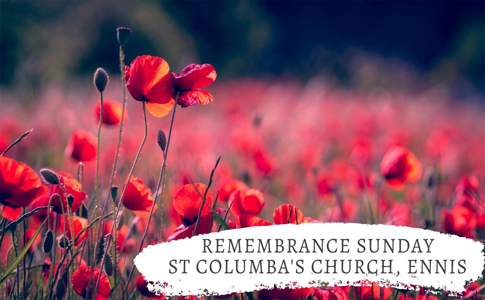 Remembrance Sunday – Neither forget nor repeat