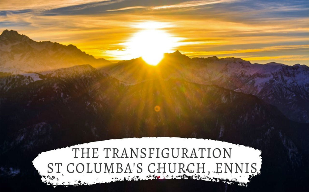The Transfiguration – The Times they are a-changing