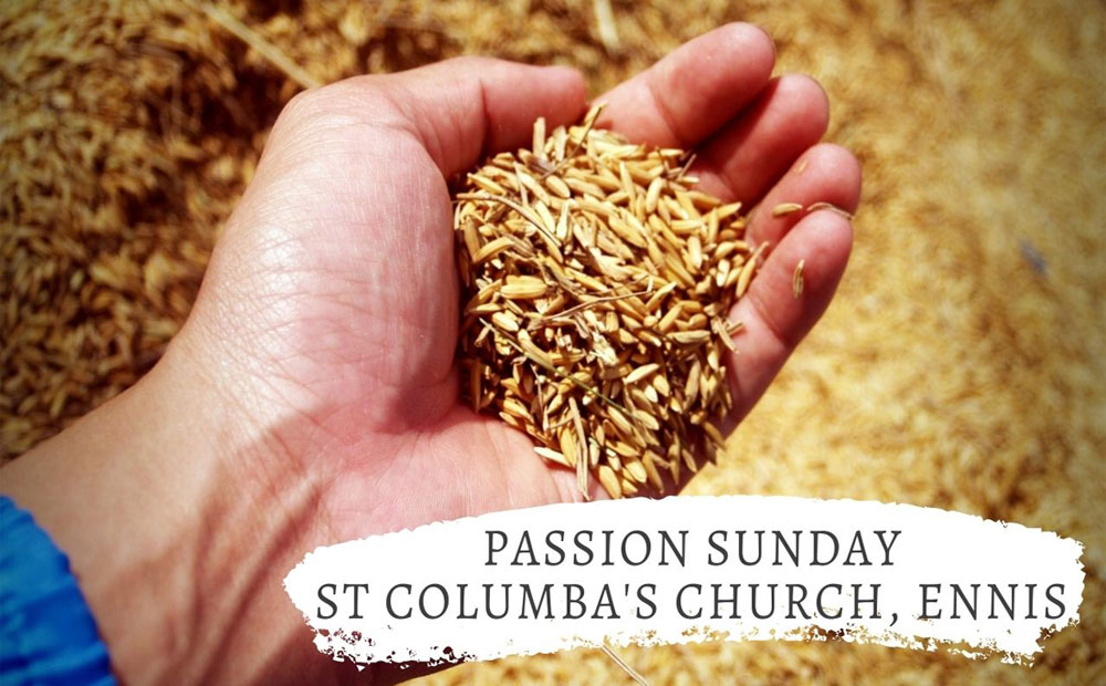 Passion Sunday – not quite as it sounds.